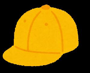 ふちのない帽子