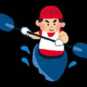 カヌー選手